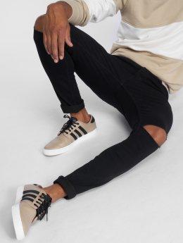 Only & Sons Skinny Jeans onsWarp Rip Knee czarny