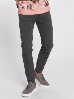 Only & Sons Skinny Jeans onsWarp Raw Hem grau