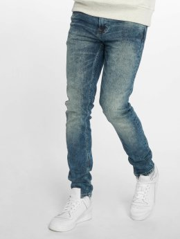 Only & Sons Skinny Jeans onsWarp Washed niebieski