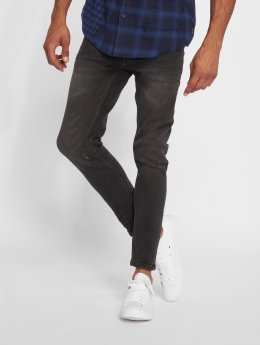 Only & Sons Skinny jeans onsWarp Washed zwart