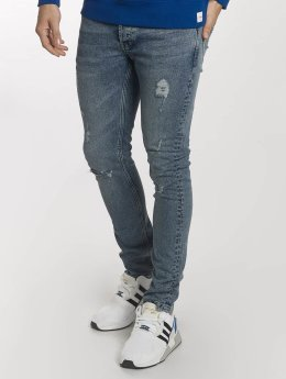 Only & Sons Slim Fit Jeans onsSpun Damage blau