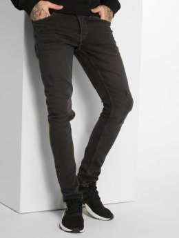 Only & Sons Slim Fit Jeans onsSpun Jog Damage Pk 0473 grijs