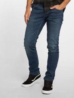 Only & Sons Straight fit jeans onsWeave Dark blauw