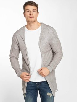Only & Sons Strickjacke onsAnders Long Knit grau