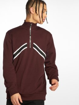 Only & Sons Sweat & Pull onsWyatt Half Zip rouge