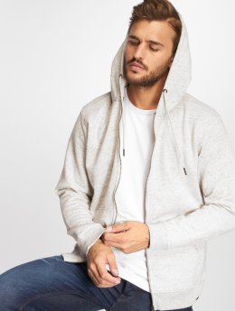 Only & Sons Sweat capuche zippé onsJay beige