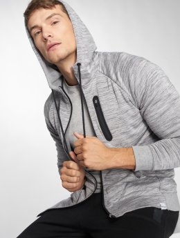 Only & Sons Sweat capuche zippé onsVinn 2.0 gris