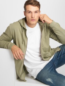 Only & Sons Sweat capuche zippé onsJayce vert