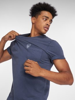 Only & Sons T-Shirt onsNew Finnley Destressed bleu