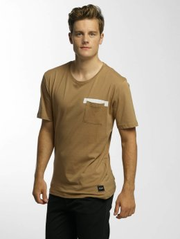 Only & Sons t-shirt onsLow bruin