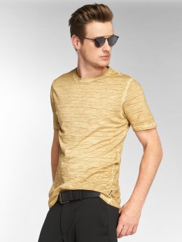 Only & Sons t-shirt onlsNelson Striped geel