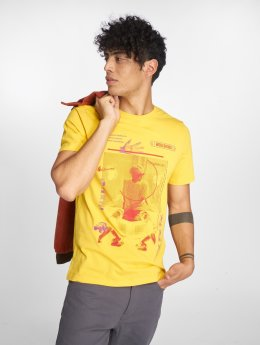 Only & Sons t-shirt onsFabio geel