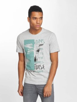 Only & Sons T-Shirt onsDave Fitted grau