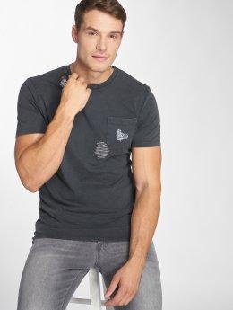 Only & Sons T-shirt onsNew Finnley Destressed grigio