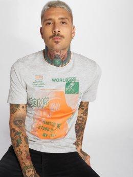 Only & Sons T-shirt onsFabio grigio