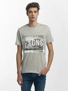 Only & Sons t-shirt onsStuart grijs