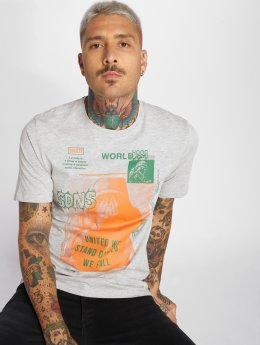 Only & Sons T-Shirt onsFabio gris