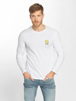 Only & Sons T-Shirt manches longues onsSmiley License blanc