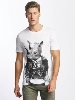 Only & Sons t-shirt onsMalthe wit
