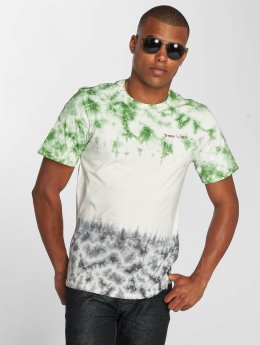 Only & Sons onsTye Dip T-Shirt White/Green/Black