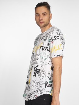 Only & Sons t-shirt onsFenton Slub wit
