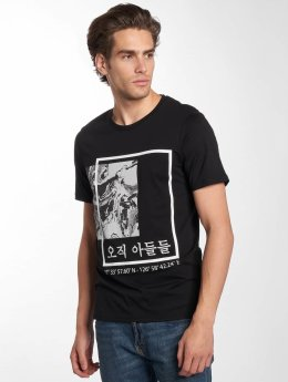 Only & Sons t-shirt onsSean zwart