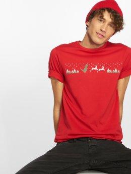 Only & Sons T-Shirty onsRexi czerwony
