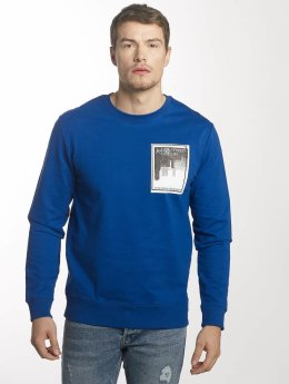 Only & Sons trui onsKane Frontprint blauw