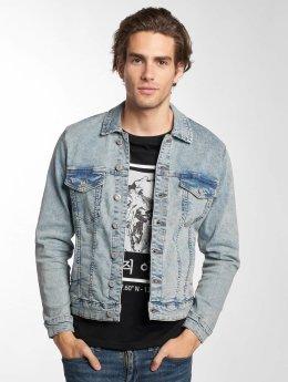 Only & Sons Übergangsjacke onsCoin Trucker Blech Jeans blau