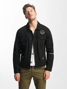 Only & Sons Välikausitakit onsRocker Patch Denim musta
