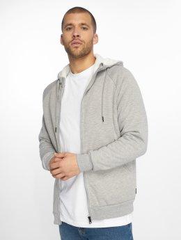 Only & Sons Zip Hoodie onsToby Teddy Regular grey