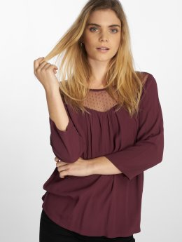Only Blouse & Chemise onlSonny 3/4 rouge