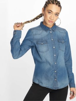 Only Blouse Always Rock It blauw