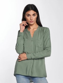Only Bluse onlFirst Pocket grün