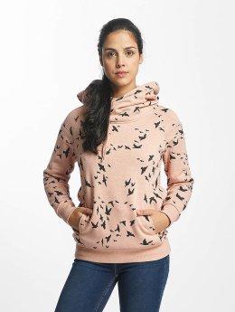 Only Bluzy z kapturem onlJalene Dot rózowy
