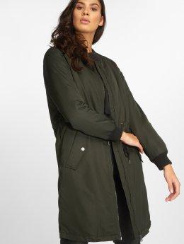 Only Bomber jacket onlElla Long olive