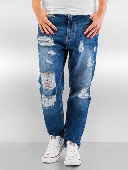 Only Boyfriend jeans onlTonni Destroyed Boyfriend blauw