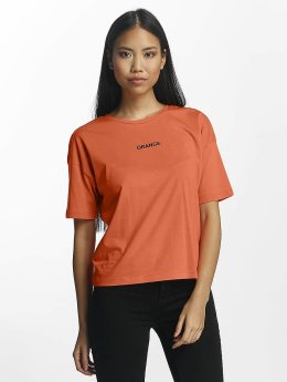 Only Camiseta onlSofie naranja