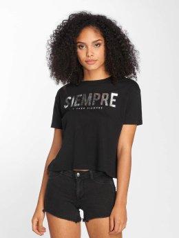 Only Camiseta onlJulia negro