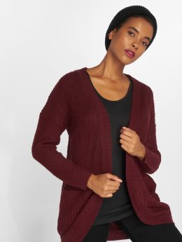 Only Cardigan onlEmma New Knit rouge