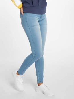 Only High Waisted Jeans onlRoyal  modrý