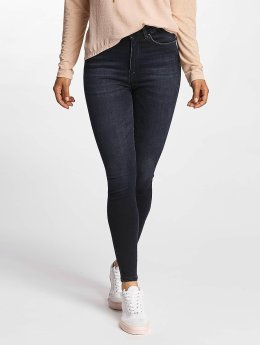 Only Jeans de cintura alta onlPosh High Waist azul