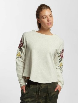 Only Jumper onlDarma Flower Embroidery beige