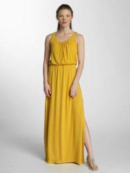 Only Frauen Kleid onlSally in goldfarben