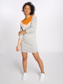 Only Kleid onlGigi Block Sweat grau