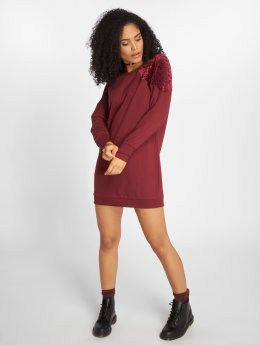 Only Kleid onlLouisa rot