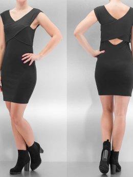 Only Kleid onlDaria Wrap schwarz