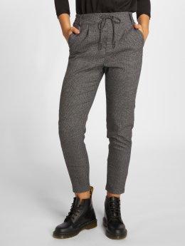 Only Látkové kalhoty onlPoptrash Soft Check čern