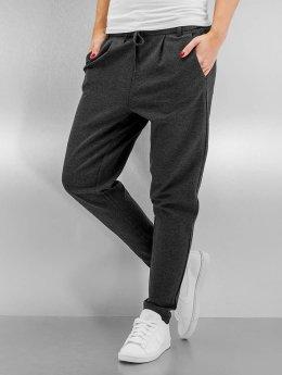 Only Látkové kalhoty onlPoptrash šedá