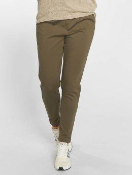 Only Látkové kalhoty onlPoptrash olivový